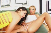 Flush presents cindy hope and bonni bone in