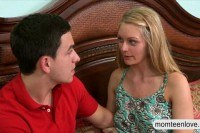 Stepmom eva notty threesome with teens on