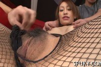 Punishment for this hot asian