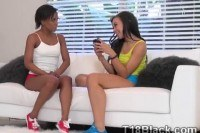 Ebony teens surprised sending naughty photos