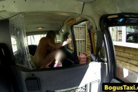 English amateur rammed in back of cab