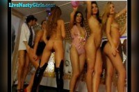Strippers dance on webcam