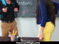 Milf teacher fucks student