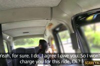 Driver jonhs horny customer wants his dick
