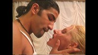 Sexy blonde anal ed by an arabian boy