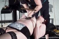 Lesbian bdsm and hardcore lezdom tit torture