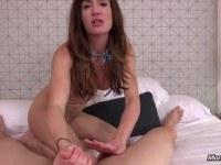 Anal blowjob brunette masturbation