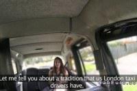Tourist ed in taxi