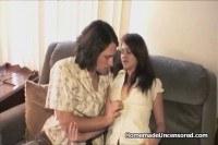 Couple homemade sex tape recording