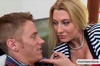 Milf jennifer best horny threesome with