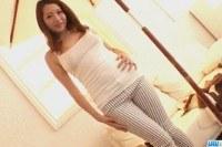 Otowa asian model endures hardcore threesome