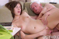 Lover fucks young pussy
