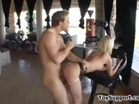 Teen slave gets punished