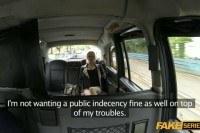 Blonde teen april gets public cab sex style