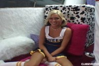 Cheerleader takes a fat cock