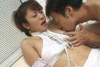 Tachibana gets sex toys and dick in vagina