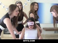 Sisters torture and fuck new pledge