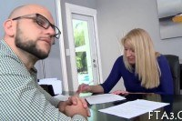 Gets fucked inside the office
