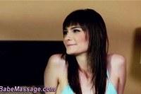 Lesbian fingers masseuse