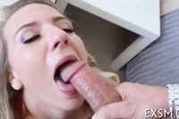 As kinky gal gets fucked