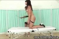 British lesbian spanks