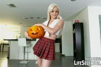 Halloween night becomes really hot