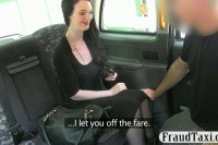 Passenger ed by driver to off her fare