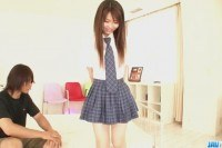 Ai schoolgirl with need for cock goes nasty