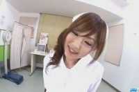Airi asian nurse craves for a tasty dick