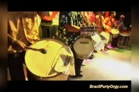 Wild brazil party orgy