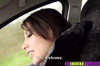 Hitchhiker nikita gets hammered