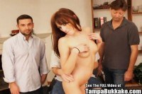 Ass annoying valley girl slut bukkake