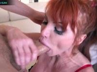 Redhead taylor vayne getting a hard fuck