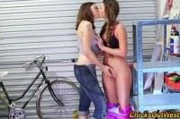 Amateur lesbian rimmed