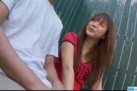 Kago asian teen sucks cock in dirty manners